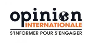 TRIBUNE DE RÉGIS PASSERIEUX ET PHILIPPE DE ROUX DANS OPINION INTERNATIONALE