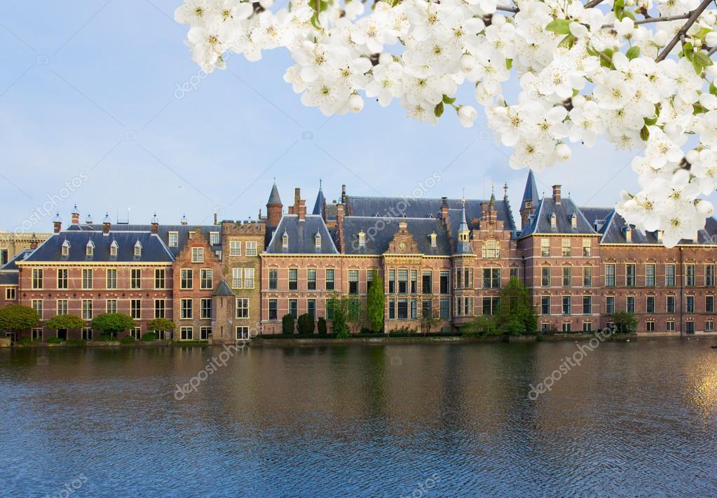 Regis Passerieux au Parlement Néerlandais.
