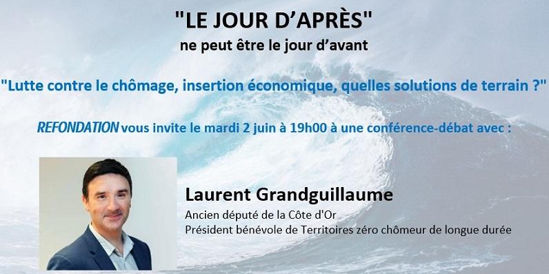 Visioconférence «LE JOUR D'APRÈS», mardi 02 juin 2020 19h00.