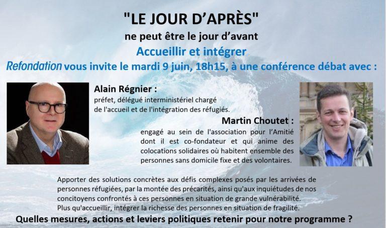 Visioconférence « LE JOUR D'APRÈS », mardi 9 juin 2020 18h15.
